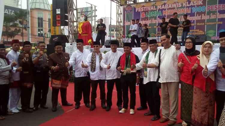 festival marawis klasik Betawi
