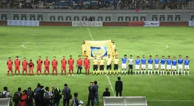 Timnas Indonesia U 16 versus singapura