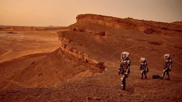 budak di mars NASA