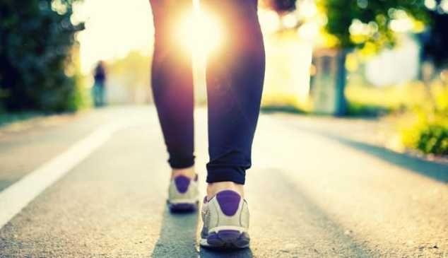 Berjalan kaki pagi