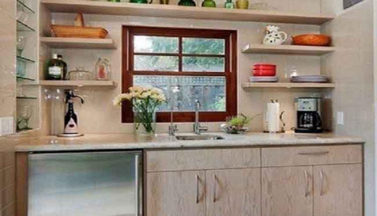 Dapur Tanpa Kabinet Atas Kitchen Set