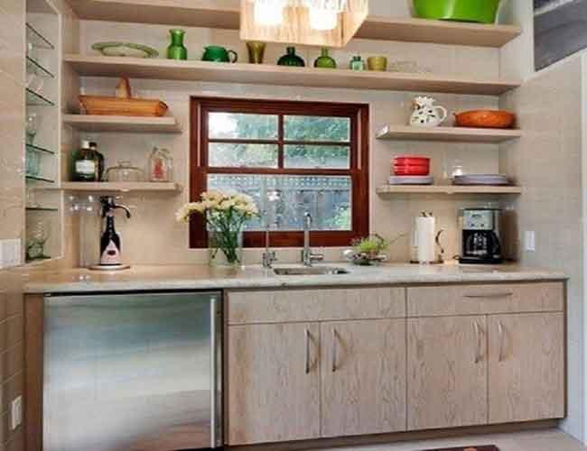 Membuat Dapur Tanpa Kabinet Atas Kitchen Set Pena Merdeka
