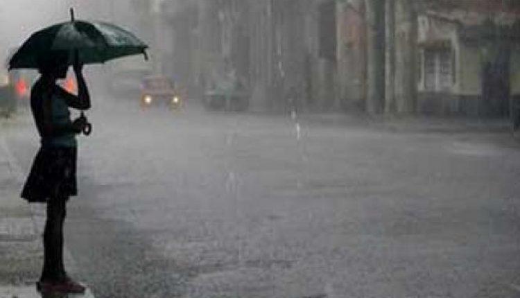 ilustrasi hujan lebat