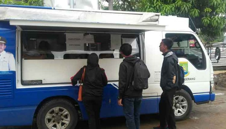 kegiatan job fair keliling Kota Tangerang