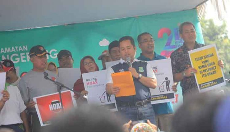 Deklarasi anti hoax di Kota Tangerang