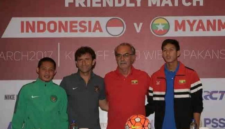 Konferensi pers friendly match timnas u-22