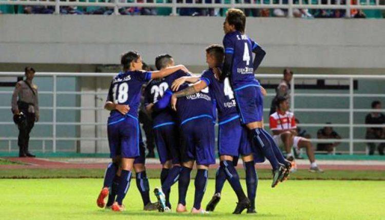 Kemengan Arema FC VS Persiba