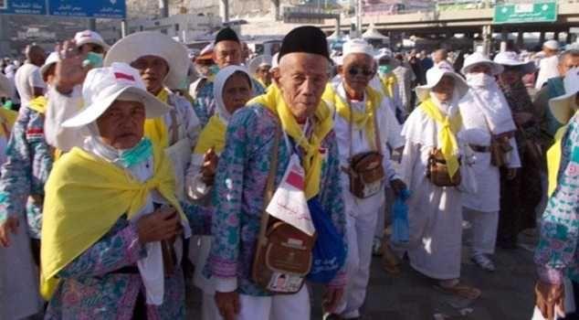 Jamaah Haji Lansia Indonesia