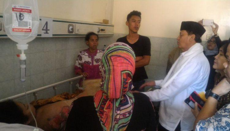 Korban Kebakaran Kosambi Tangerang Rp 10 Juta