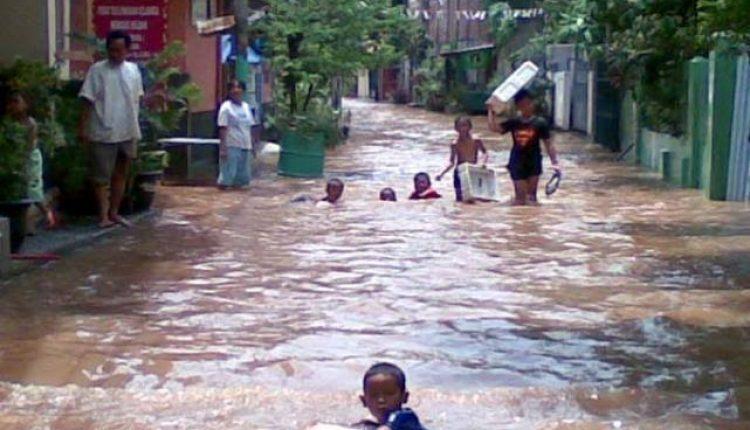makanan siap saji korban banjir