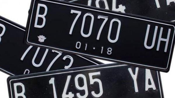 pelat nomor mobil pribadi