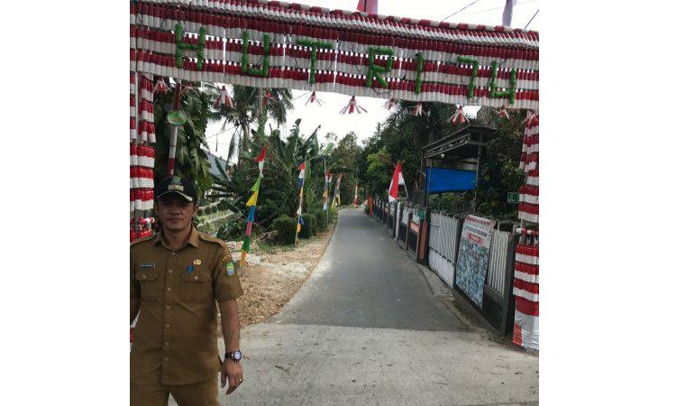 Gapura HUT RI Kota Tangerang
