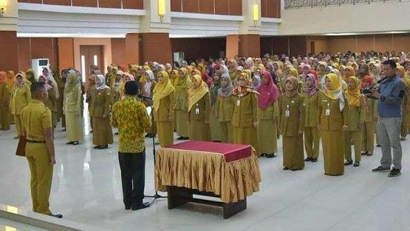 ASN Kabupaten Bekasi Baru dilantik